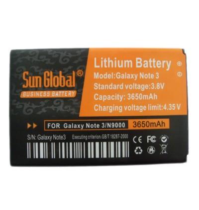 Samsung Galaxy Note 3 Sun Global High Capacity Battery