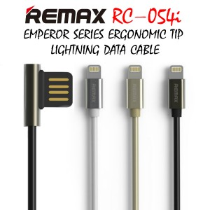 Original Remax RC-054i Emperor series Lightning Ergonomic Tip Data Cable