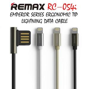 Original Remax RC-054i Emperor series Ergonomic Tip iphone Data Cable