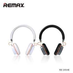Original Remax RB-195HB Stereo Bluetooth Wireless Headset
