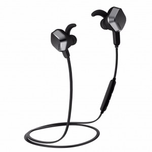 Original Remax RM-S2 Magnetic Stereo Bluetooth Wireless Headset (Black)