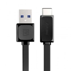 Original Remax RT-C1 Type-C 1m Fast Charge Data Cable (Black)