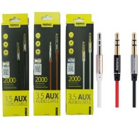 Original Remax RL-L100 3.5mm Jack Aux Audio 1000mm Cable