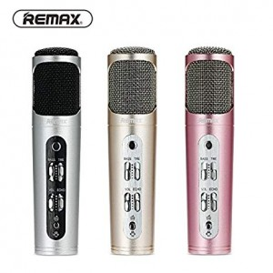 Original Remax RMK-K02 Professional Karaoke Microphone for Mobile Phone