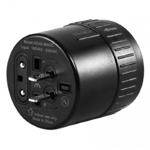 Avantree ACAD-Magic world wide universal AC Travel Plug Adapter