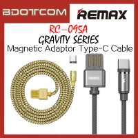 Original Remax RC-095a Gravity series Magnetic Adaptor Type-C Cable