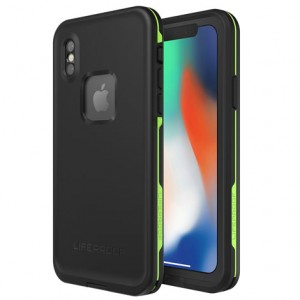 Original LifeProof FRE Series Protective Case compatible with Apple iPhone X (Night Lite)