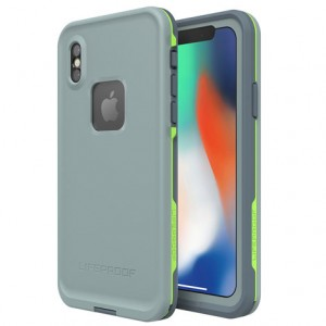 Original LifeProof FRE Series Protective Case compatible with Apple iPhone X (Drop In)