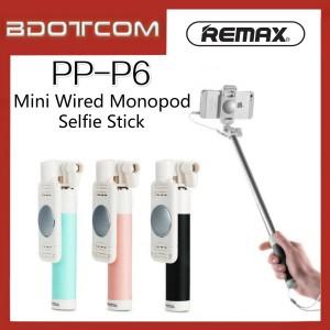 Remax Proda PP-P6 Mini Wired Selfie Stick Monopod