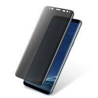 Full Curved Privacy Anti-Spy Tempered Glass for Samsung Galaxy S8