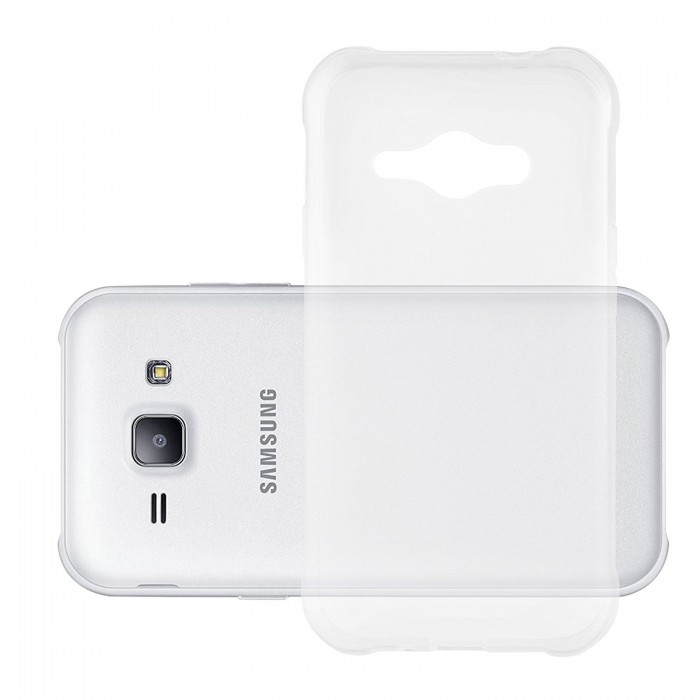 Ultra Thin Silicone TPU Case Compatible With Samsung Galaxy J1 Ace Clear