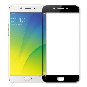 Full Covered Curved Tempered Glass Screen Protector for Oppo R9s