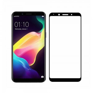 Full Covered Curved Tempered Glass Screen Protector for Oppo F5