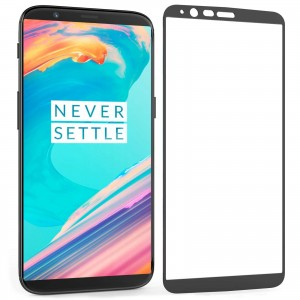 Full Covered Curved Tempered Glass Screen Protector for OnePlus 5T