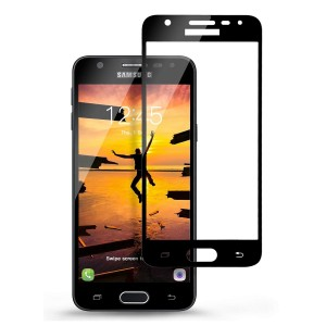 Full Covered Curved Tempered Glass Screen Protector for Samsung Galaxy J5 Prime