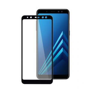 Full Covered Curved Tempered Glass Screen Protector for Samsung Galaxy A8+ 2018