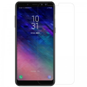 Tempered Glass Screen Protector for Samsung Galaxy A8 2018 (Clear)