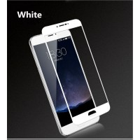 Full Covered Tempered Glass Screen Protector for Samsung Galaxy J6 2018 (White)