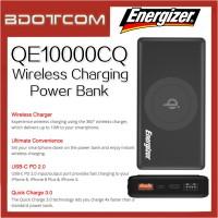 Energizer QE10000CQ QC3.0 + Type-C PD2.0 10000mAh Wireless Charging Power Bank