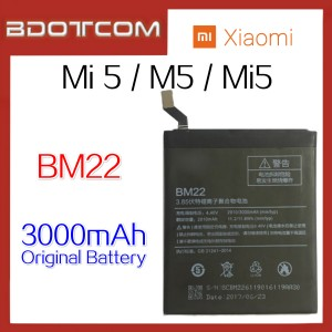 Original Xiaomi Mi5 / Mi 5 / M5 BM22 3000mAh Standard Replacement Battery
