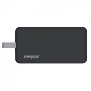 Energizer UE8002 8000mAh Dual USB Port Power Bank with Lightning Cable
