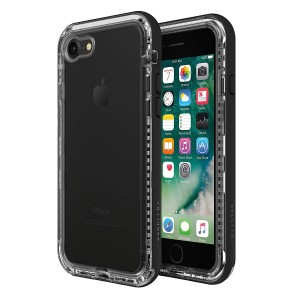 Original LifeProof NEXT Series Protective Case compatible with Apple iPhone 8 (Black Crystal)