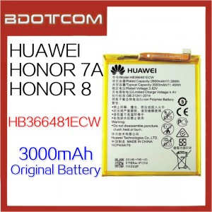 Original Huawei Honor 7A / Honor 8 3000mAh HB366481ECW Standard Battery
