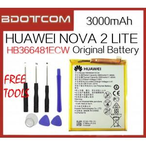 Original Huawei Nova 2 Lite 3000mAh HB366481ECW Standard Battery + Tool Kits