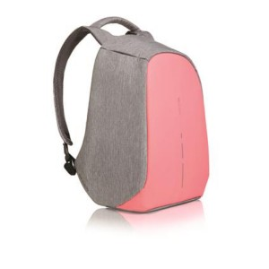 Original Bobby Compact XD Design Anti Theft Cut Proof Backpack (Coralette)