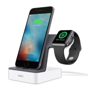 Original Belkin PowerHouse™ Valet Charge Dock for Apple Watch + iPhone