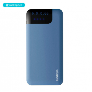 Rock Space P40 QC3.0 10000mAh Fast Charge Power Bank with Type-C Cable