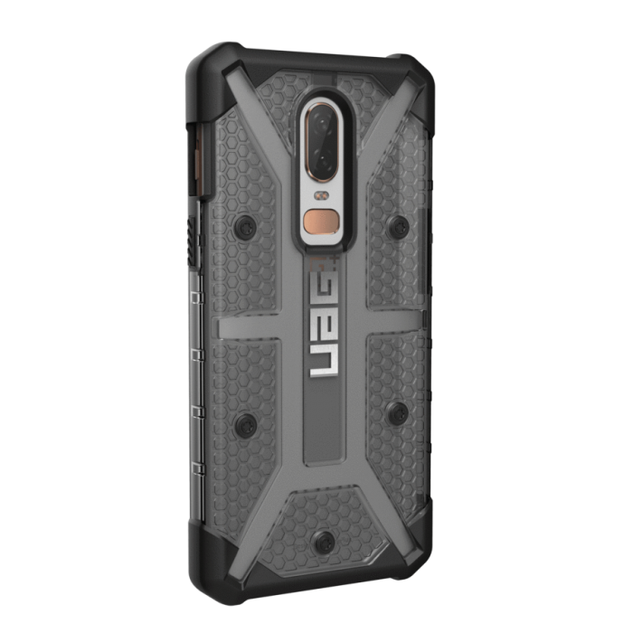 super popular 27e60 e5a08 UAG Plasma Series Protective Cover Case for OnePlus 6 (Ash)