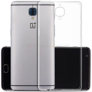 Ultra Thin Silicone TPU Case compatible with Oneplus 3T (Clear)