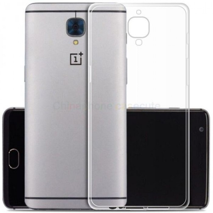 promo code bbccc 293e8 Ultra Thin Silicone TPU Case compatible with Oneplus 3T (Clear)