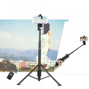 Yunteng VCT-1688 Mini Table Tripod Wireless Bluetooth Selfie Stick