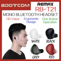 Remax RB-T21 Mini Mono Bluetooth Wireless Headset