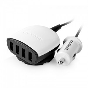 Capdase Boosta Z4 6.2A Quartet USB Car Charger