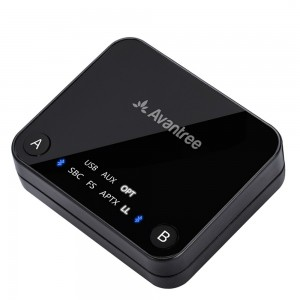 Avantree Audikast aptX Low Latency Bluetooth Wireless Transmitter