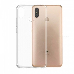 Ultra Thin Silicone TPU Case compatible with Xiaomi Mi Max 3 (Clear)