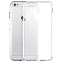 Ultra Thin Silicone TPU Case compatible with Apple iPhone 6 (Clear)