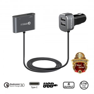 Nillkin PowerShare 4 USB Port Fast Charge Car Charger