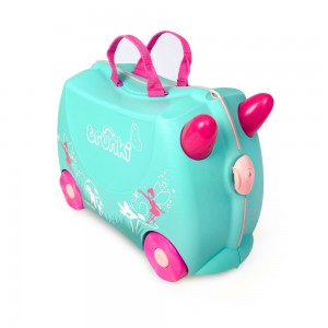Trunki TR0324-GB01 Kids Ride-On Luggage Suitcase (Fairy)