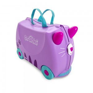 Trunki TR0322-GB01 Kids Ride-On Luggage Suitcase (Cassie Cat)