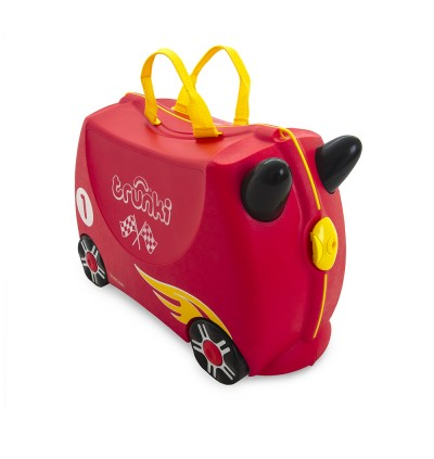 Trunki TR0321-GB01 Kids Ride-On Luggage Suitcase (Rocco Race Car)