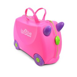 Trunki TR0061-GB01 Kids Ride-On Luggage Suitcase (Trixie Pink)