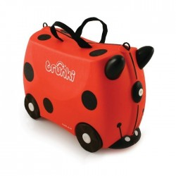 Trunki TR0092-GB01 Kids Ride-On Luggage Suitcase (Harley Ladybug)