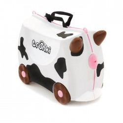 Trunki TR0047-GB01 Kids Ride-On Luggage Suitcase (Frieda Cow)