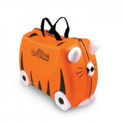 Trunki TR0085-GB01 Kids Ride-On Luggage Suitcase (Tipu Tiger)