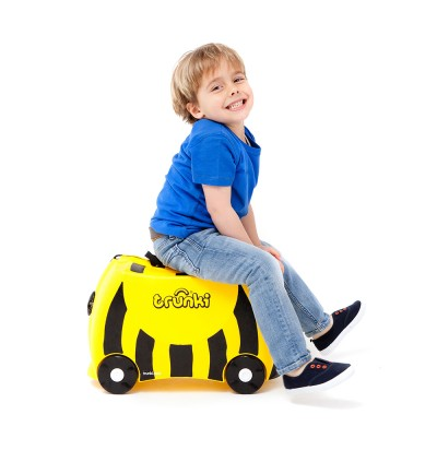 Trunki TR0044-GB01 Kids Ride-On Luggage Suitcase (Bernard Bee)