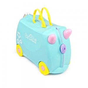 Trunki TR0287-GB01 Kids Ride-On Luggage Suitcase (UNA)